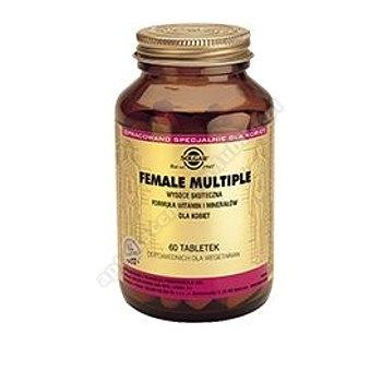 SOLGAR Female Multiple wit. min.  dla kobiet 60 tabletek