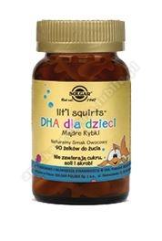 SOLGAR DHA dla dzieci (Mądre rybki) żelki do żucia 90 kapsułek