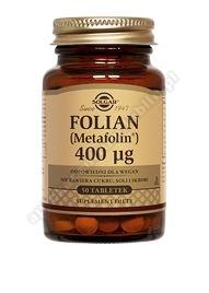 SOLGAR Folian 400µg 50 tabletek