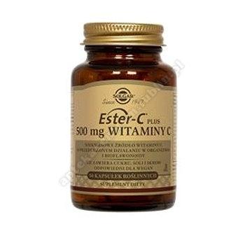 SOLGAR Ester C-Plus witamina C 500 mg 50 kapsułek
