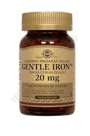 SOLGAR Gentle Iron (żelazo) 0,02g 90 kapsułek