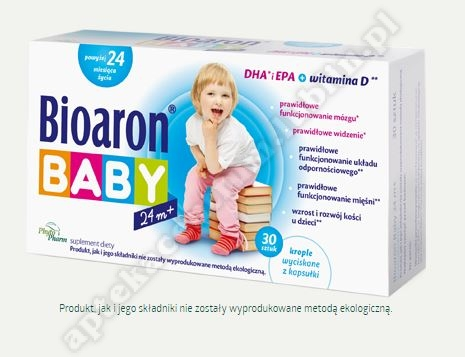 Bioaron Baby od 24 miesiąca 30 kapasułek twistoff