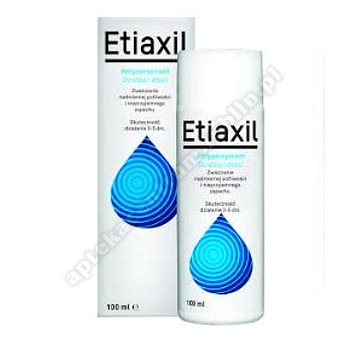 ETIAXIL LOTION antyperspirant do stóp i dłoni 100ml