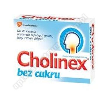 Cholinex bez cukru 24 pastyl.