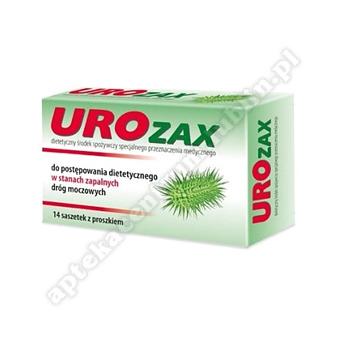 UROzax proszek do sprządzania zawiesiny roztwór doustny 14 saszetek
