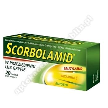 Scorbolamid x 20 tabletek drażowanych