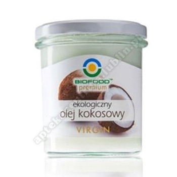 Olej kokosowy virgin BIO 260g BIO FOOD
