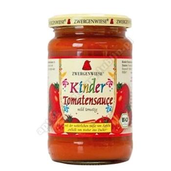 Sos pomidorowy dla dzieci bezglutenowy BIO 350g ZWERGENWIESE