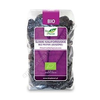 Śliwki kalifornijskie bez pestek BIO 400g BIO PLANET