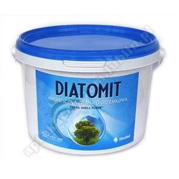 Ziemia okrzemkowa amorficzna diatomit wiaderko 1kg PERMA- GUARD