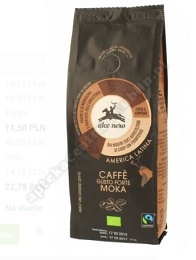Kawa 100% arabica moka fair trade BIO 250g ALCE NERO