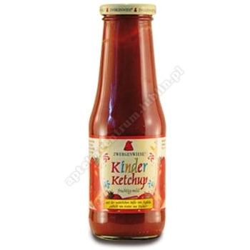 Ketchup dla dzieci bez dodatku cukru bezglutenowy BIO 500ml ZWERGENWIESE