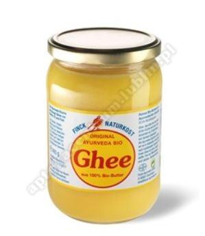 Masło klarowane GHEE BIO 480g FINCK AYURVEDA