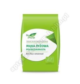 Mąka ryżowa pełnoziarnista BIO 500g BIO PLANET
