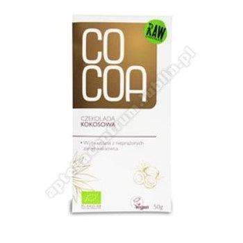 Czekolada kokosowa BIO 50g COCOA