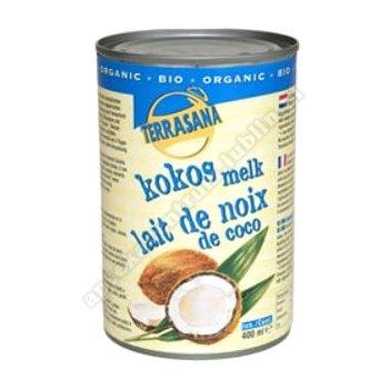 Mleczko kokosowe 22% tłuszczu BIO 400ml TERRASANA