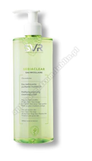 SVR SEBIACLEAR Płyn micelarny 400 ml