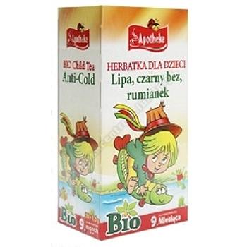 Herbatka dla dzieci- lipa, czarny bez, rumianek (na przeziębienie BIO 20x 1,5g APOTHEKE)