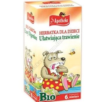 Herbatka dl dzieci- na trawienie BIO 20x 1,5g APOTHEKE (koper włoski, melisa, mięta)