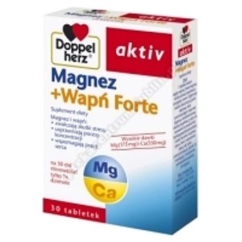 Doppelherz Aktiv Magnez+Wapń Forte 30 tabl.