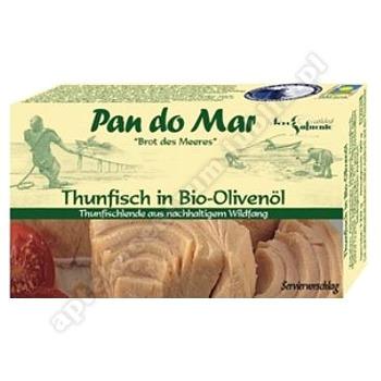 Tuńczyk w BIO oliwie z oliwek 120g PAN DO MAR