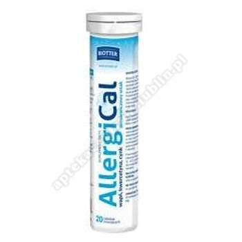 AllergiCal BIOTTER tabl.mus. 20 tabl.