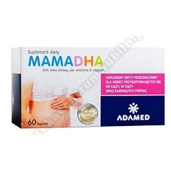 Mamadha kaps. 0,5 g 60 kaps.+Bio-Oil olejek 6ml GRATIS