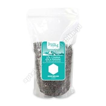 Sól czarna kala namak grubo mielona 1kg SKARBY OCEANU