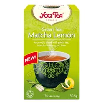 Herbatka zielona z cytryną i matchą BIO 17x 1,8g YOGI TEA