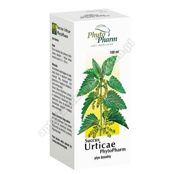 Succus Urticae płyn doustny 100 ml