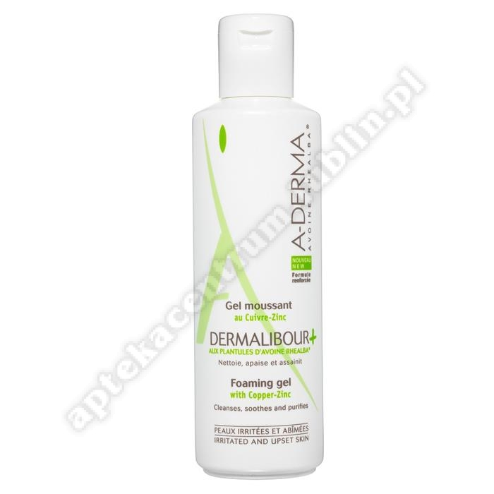 A-DERMA Dermalibour+ Żel do mycia 250ml