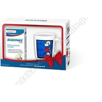 Bodymax Plus 60 tabletek +PREZENT Kubek  motyw A.Mleczko
