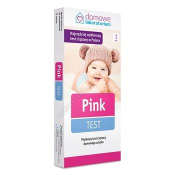 Test ciążowy PINK-TEST płytkowy 1 szt.
