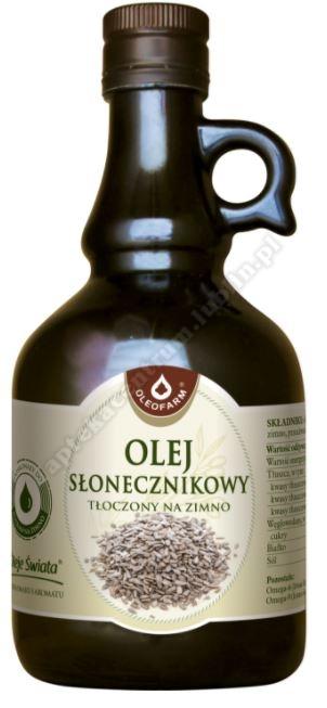 OLEOFARM Olej słonecznikowy 0,5l