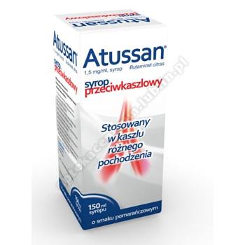 Atussan syrop 1,5 mg/ml 150 ml (butelka)