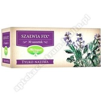 Szałwia fix Tylko Natura zioła do zaparzania w saszetkach