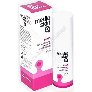 Mediqskin Plus Żel punktowy d/cery trądzik. 30ml