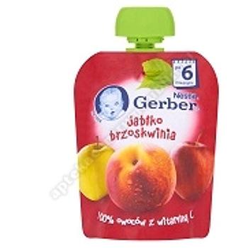 GERBER Deser jabłko, brzoskwinia  90g