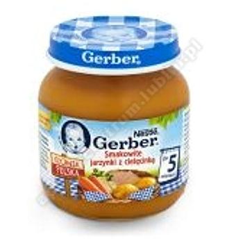GERBER Obiadek smakow.jarz/cielęci.125g