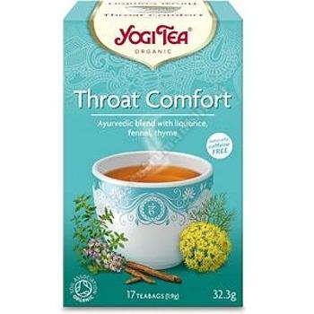 Herbatka na gardło BIO (17x 1, 9g) YOGI TEA