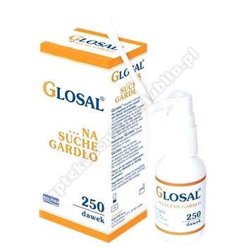 GLOSAL Spray na suche gardło 25ml(250daw.)