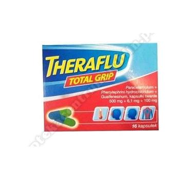 Theraflu Total Grip kaps. 16kaps.