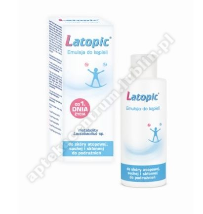 LATOPIC  Emulsja do kąpieli 400 ml