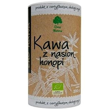 Kawa z nasion konopi BIO 200g DARY NATURY