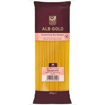 Makaron kukurydziano- ryżowy spaghetti bezglutenowy BIO 500g ALB GOLD
