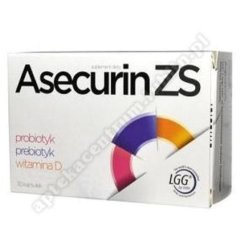 Asecurin ZS kaps. 30 kaps.