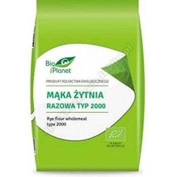 Mąka żytnia razowa TYP 2000 BIO 1kg BIO PLANET