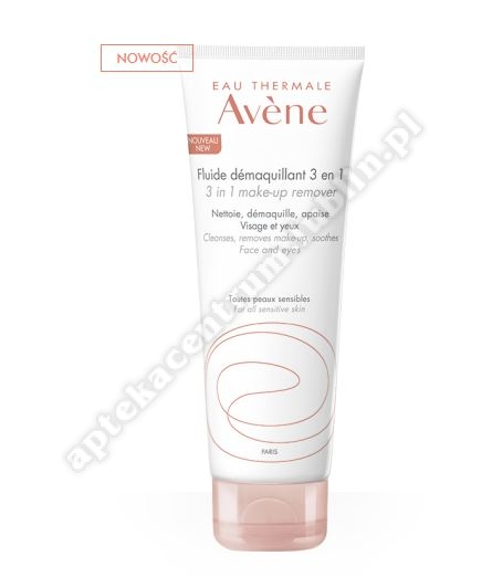 Avene Fluid do demakijażu 3 w 1  200ml