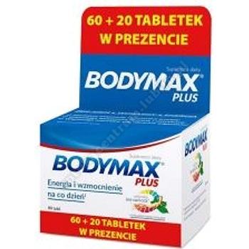 Bodymax Plus tabl. 80 tabl. (60+20 tabl.)