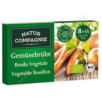 Bulion kostki warzywne BIO 84g NATUR COMPAGNIE